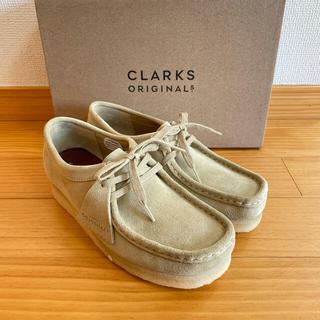 クラークス(Clarks)の【新品】クラークス ワラビー Clarks Wallabee メイプル(スリッポン/モカシン)