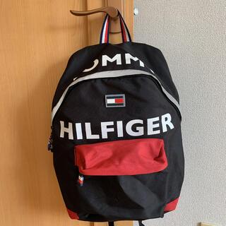 TOMMY HILFIGER - 【美品】TOMMY HILFIGER リュック バックパック Black/Red
