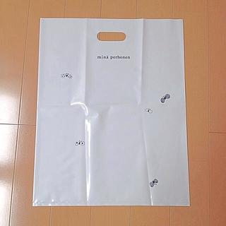 ミナペルホネン(mina perhonen)の【新品】ミナペルホネン♡ショッパー大(ノベルティグッズ)