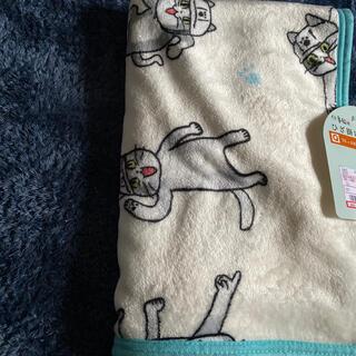 シマムラ(しまむら)の仕事猫 ひざ掛け ブランケット(おくるみ/ブランケット)
