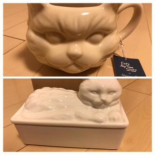 アフタヌーンティー(AfternoonTea)のAfternoon Tea×CatsISSUE 猫 マグカップ&バターケース(グラス/カップ)