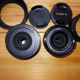 Panasonic - Sigma 30mm f2.8 LUMIX G VARIO 35-100mm