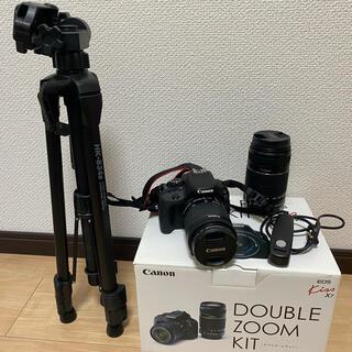 Canon - Canon EOS kiss  x7 ダブルズームレンズレンズキット おまけ付き