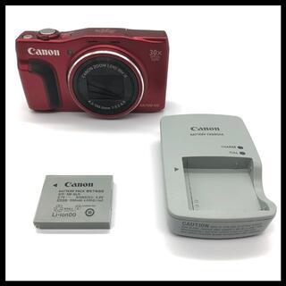 キヤノン(Canon)の【Wi-Fi】 Canon PowerShot SX700 HS レッド(コンパクトデジタルカメラ)