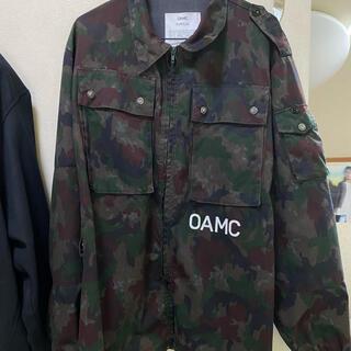 ジルサンダー(Jil Sander)のOAMC 迷彩 ミリタリージャケット オーエーエムシー(ミリタリージャケット)