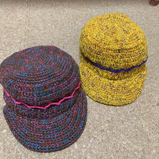 グルービーカラーズ(Groovy Colors)のGROOVY COLORS グルカラ ニット帽 LL(56cm) 2点(帽子)