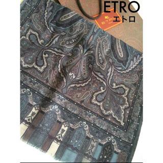 エトロ(ETRO)の新品未使用 エトロスカーフ(バンダナ/スカーフ)
