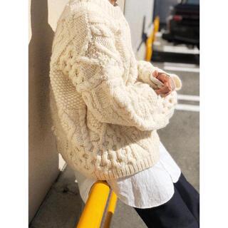 TODAYFUL - TODAYFUL Pattern Hand Knit