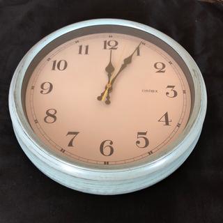 フランフラン(Francfranc)のFrancfranc アンティークウォールクロック 壁掛け時計(掛時計/柱時計)