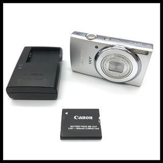 キヤノン(Canon)の【2000万画素】 Canon IXY 140 シルバー(コンパクトデジタルカメラ)