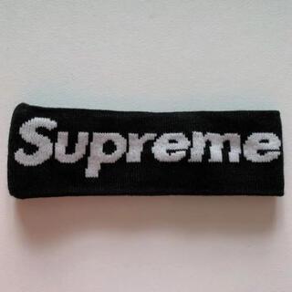 シュプリーム(Supreme)のsupreme newera big logo headband 黒(その他)