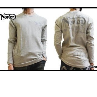 ノートン(Norton)のSALE!! 6490円→3490円NORTON(ノートン)ランダムテ(Tシャツ/カットソー(七分/長袖))