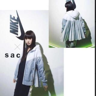 sacai - 本日限定 sacai nike ナイロン フリル パーカー サイズM