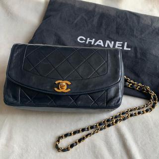 CHANEL - シャネル マトラッセ  ダイアナフラップ チェーンバッグ ショルダーバッグ