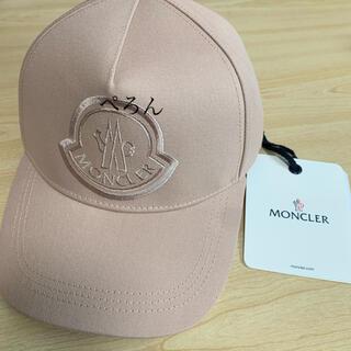 MONCLER - 【正規品】新作!MONCLER モンクレール ロゴ刺しゅう キャップ