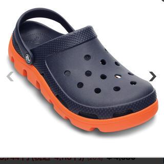 クロックス(crocs)の新品未使用 デュエット スポーツ クロッグ 26(サンダル)