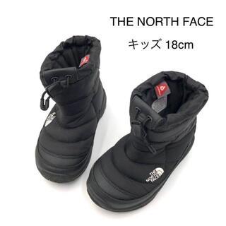 THE NORTH FACE - ノースフェイス ヌプシ ウィンター ブーツ キッズ 18cm 黒 親子