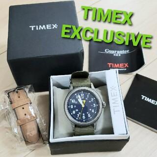 TIMEX - TIMEX タイメックス エクスクルーシブ スカウトメタル SP 腕時計