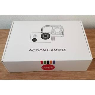 コカコーラ(コカ・コーラ)のyu様専用。防水ケース付き!アクションカメラ(コンパクトデジタルカメラ)