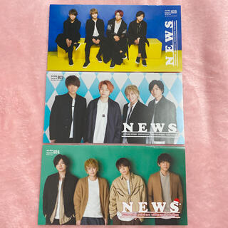 ニュース(NEWS)のNEWS 会報 24 25 26(アイドルグッズ)