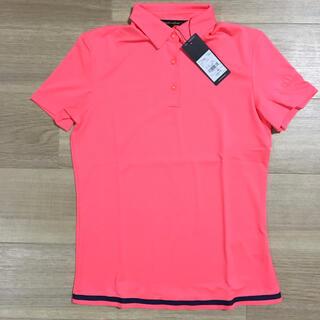 アディダス(adidas)の新品 アディダス ゴルフウェア S 半袖シャツ ピンク メッシュ 定価10989(ウエア)