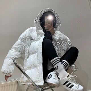 シュプリーム(Supreme)の極美品 Air Jordan ダウンジャケット(ダウンコート)
