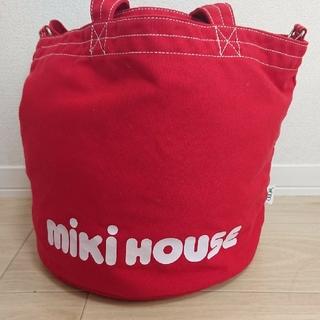 ミキハウス(mikihouse)のミキハウス HITACHIコラボ バッグ♪(マザーズバッグ)