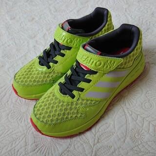アディダス(adidas)のadidas アディダス ファイト スニーカー 蛍光 イエロー 22.0 (スニーカー)