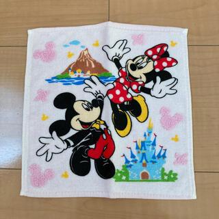 ディズニー(Disney)の東京ディズニーリゾート Disney ハンドタオル 非売品(ノベルティグッズ)