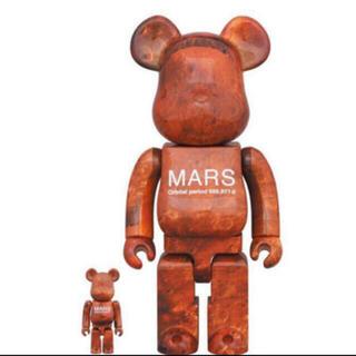 メディコムトイ(MEDICOM TOY)のBE@RBRICK MARS 100% & 400% ベアブリック マーズ(その他)