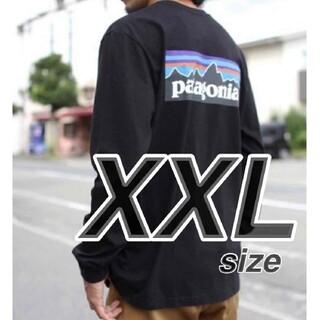 patagonia - 【XXLサイズ】 パタゴニア ロンT ロングスリーブ P-6ロゴ 長袖