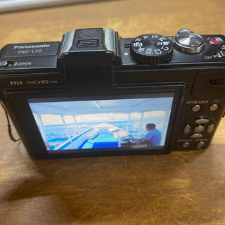 Panasonic - 動作問題なし Panasonic lumix dmc-lx5