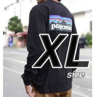 patagonia - 【XLサイズ】 パタゴニア ロンT ロングスリーブ P-6ロゴ 長袖