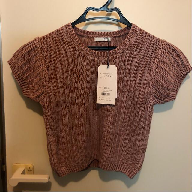GYDA(ジェイダ)の最終お値下げ!GYDA  ブリーチショートトップス レディースのトップス(Tシャツ(半袖/袖なし))の商品写真
