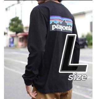 patagonia - 【Lサイズ】 パタゴニア ロンT ロングスリーブ P-6ロゴ 長袖