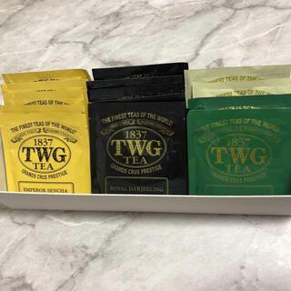 ディーンアンドデルーカ(DEAN & DELUCA)のTWG 16袋 紅茶 シンガポール アールグレイ イングリッシュブレック(茶)