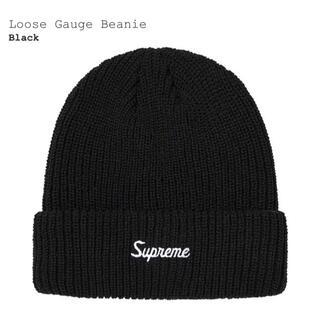 Supreme - シュプリーム supreme Loose Gauge Beanie black