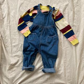 ベビーギャップ(babyGAP)のベビーギャップ デニムオーバーオール 2歳(パンツ/スパッツ)