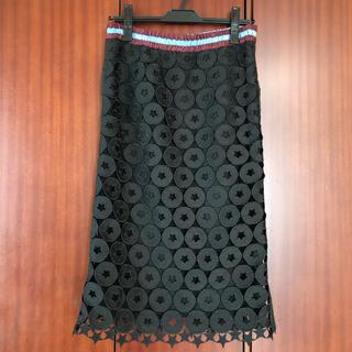ヌメロヴェントゥーノ(N°21)の専用ヌメロヴェントゥーノ タイトスカート スカート 難あり(ひざ丈スカート)