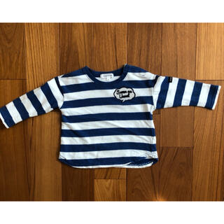 サンカンシオン(3can4on)の3カン4オン 長袖Tシャツ  80(Tシャツ)