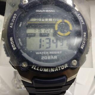 カシオ(CASIO)のカシオ電波時計(腕時計(デジタル))