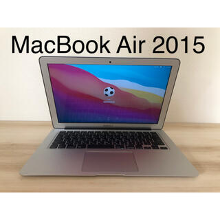 Mac (Apple) - 【美品】MacBook Air 13インチ early2015 管16