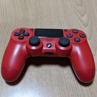 PlayStation4 - 【ジャンク】PS4 純正コントローラー 赤