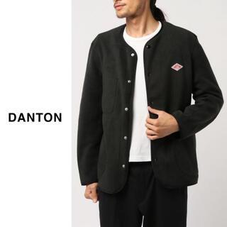 ダントン(DANTON)のDANTON(ダントン)| ノーカラーフリースカーディガン(ノーカラージャケット)