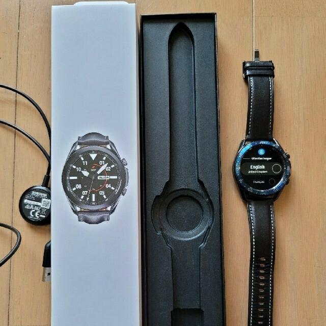 Galaxy(ギャラクシー)のGalaxy Watch3  黒色 ギャラクシーウォッチ3 Samsung メンズの時計(腕時計(デジタル))の商品写真