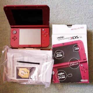 ニンテンドー3DS - Nintendo 3DS NEW ニンテンドー 本体 LL メタリックレッド