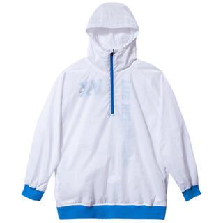 ルース(LUZ)のluzesombra ルースイソンブラ レパブリカ ハーフジップジャケット 青(ウェア)