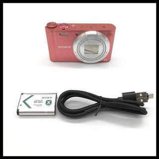 ソニー(SONY)の【Wi-Fi搭載】 SONY DSC-WX350 ピンク(コンパクトデジタルカメラ)