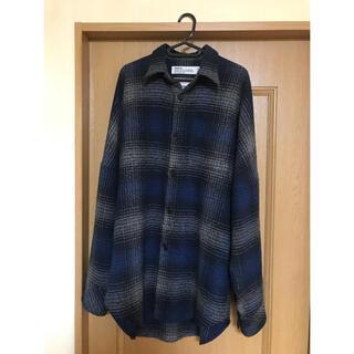 dairiku 18aw オーバーサイズフランネルチェックシャツ