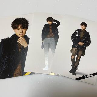 エグザイル トライブ(EXILE TRIBE)のBOT版 片寄涼太・吉野北人ポストカード(ミュージシャン)